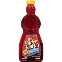 Mrs. Butter-worth's Sugar Free Syrup