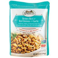 Sprouts Brown Rice & Red Quinoa With Garlic