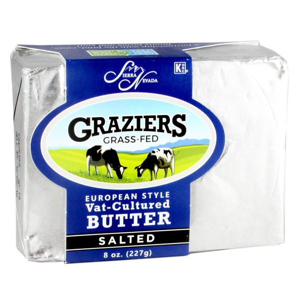Sierra Nevada Graziers Salted European Style Vat-cultured Butter