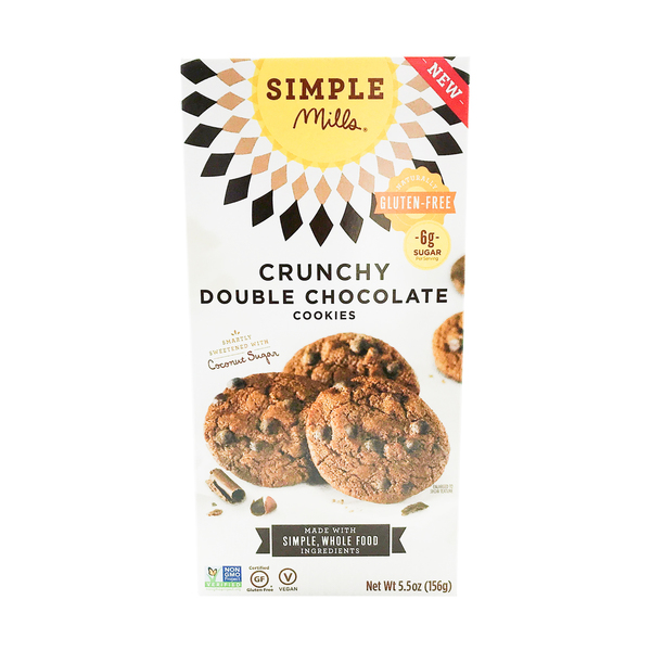 Crunchy Double Chocolate Cookies, 5.5 oz