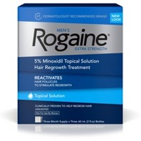 Men's Rogaine Extra Strength 5% Minoxidil Solution - 3 Month Supply