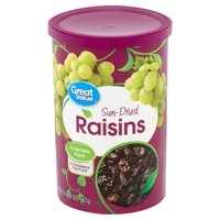 Great Value Sun-Dried Raisins, 20 oz