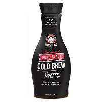 Califia Farms Pure Black Unsweetened Cold Brew Coffee - 48 fl oz