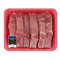 Pork Loin Country Style Ribs Bone-In, 2.3 - 3.8 lb