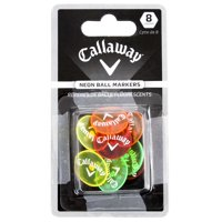 Callaway Neon Golf Ball Markers, 8-Count