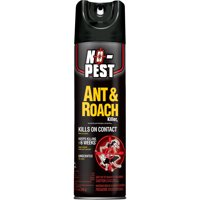 No-Pest Ant and Roach Killer Aerosol, Unscented, 12-oz
