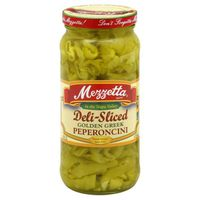 Mezzetta Peperoncini, Sliced, Golden Greek, Medium Heat, Bottle