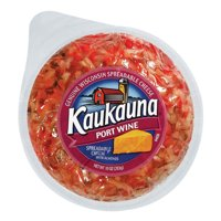 Kaukauna Port Wine Spreadable Cheeseball 10 oz