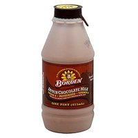 Borden Dutch Chocolate Milk, 1 Pint
