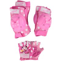 Disney Minnie Mouse Bow Protective Pad and Glove Set