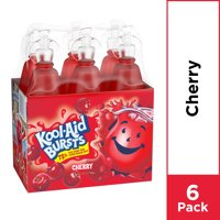 Kool-Aid Bursts Cherry Ready-To-Drink , 6 ct - 6.75 fl oz Bottles