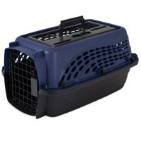 Doskocil 2 Door Top Load Pet Kennel Carrier - Ideal for pets up to 10 lbs