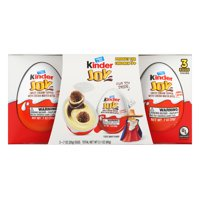 Kinder Joy Sweet Cream Topped with Cocoa Wafer Bites, 2.1 Oz.