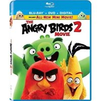 The Angry Birds Movie 2 (Blu-ray + DVD + Digital Copy)