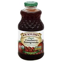 RW Knudsen 100% Juice, Organic, Cranberry Pomegranate