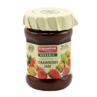 Streamline Organic Reduced Sugar Strawberry Jam