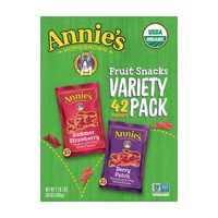 Annies Organic Fruit Snack Variety Pack, 42 x .34 oz