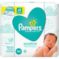 Pampers Baby Wipes Perfume Free 3X Refill Packs