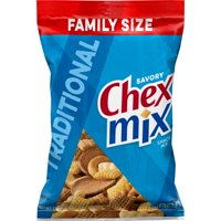 Chex Mix Snack Mix, Traditional, 15 oz Family Size