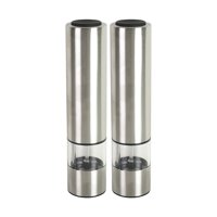 Kamenstein Set of 2 Battery Operated Grinders with Light, Unfilled