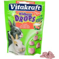 Vitakraft Drops with Wildberry for Pet Rabbits