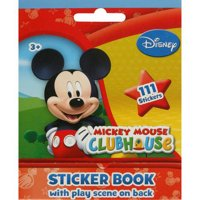 Disney Mickey Mouse Sticker Book, 111-Count