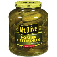 Mt. Olive Kosher Petite Dills Fresh Pack Pickles 46 fl. oz. Jar