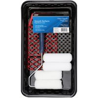 Linzer Woven Smooth Surfaces Painting Trim Kit, White, 7 Piece