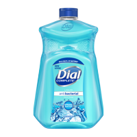 Dial Antibacterial Liquid Hand Soap Refill, Spring Water, 52 Ounce