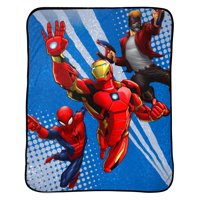 "Marvel Avengers 46"" x 60"" Plush Throw, 1 Each"