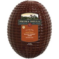 Prima Della Naturally Smoked Black Forest Ham, Deli Sliced