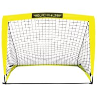 Franklin Sports 4' x 3' Portable Goal for backyard (Includes Peg Hooks and Carry Bag)