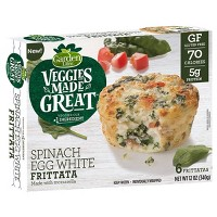 Garden Lites Spinach Egg White Frittata - 6ct/12oz