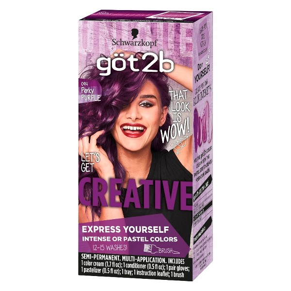 Got2B Color Creative Temporary Hair Color - Pink