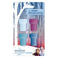 Disney Frozen 2 Self Inking Stamps, 4 Count
