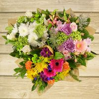 Premium Mixed Floral Bouquet, Assorted Varieties